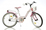 Bicicleta Fetite Hello Kitty Original 20 Alb